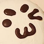 顔文字ケーキ